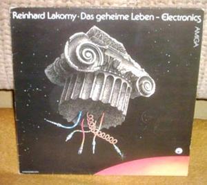 LP Reinhard Lakomy - Das geheime Leben - Electronics, AMIGA
