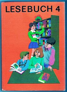 DDR Schulbuch Lesebuch 4. Klasse 1971