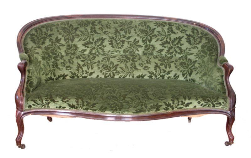Louis Philippe Französisch Salon Sofa und zwei Sessel, 1830 1850, Frankreich 1