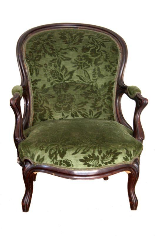 Louis Philippe Französisch Salon Sofa und zwei Sessel, 1830 1850, Frankreich 3