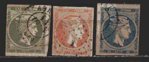 Griechenland  MiNr. 49 / 51  gestempelt