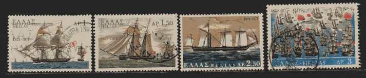 Griechenland Mi 1067 bis  1070  gestempelt