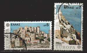 Griechenland Mi 1263 und 1264 gestempelt
