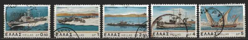 Griechenland Mi 1332  bis 1336  gestempelt
