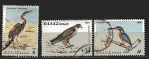 Griechenland Mi 1372, 1374, 1375  gestempelt