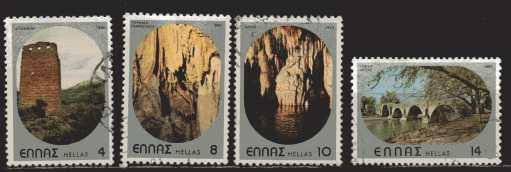 Griechenland Mi 1403 und 1405 bis 1407   gestempelt
