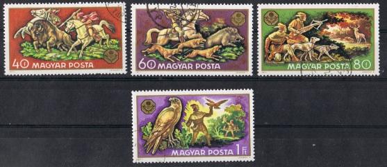 Ungarn Mi  2664 bis 2667  \