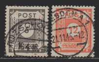 Deutschland SBZ   MiNr. 58 und 60    gestempelt