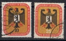 Berlin MiNr. 136 und 137  gestempelt