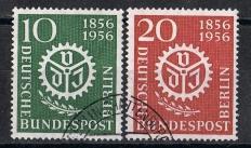 Berlin  MiNr. 138 und 139  VDI   gestempelt