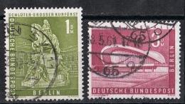 Berlin  MiNr. 153 und 154  gestempelt