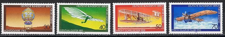 Berlin Mi  563 bis 566 postfrisch
