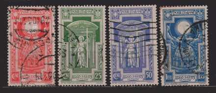 Italien  MiNr. 452 bis 455  gestempelt