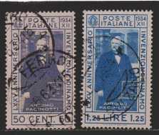 Italien  MiNr. 488 und 489  gestempelt