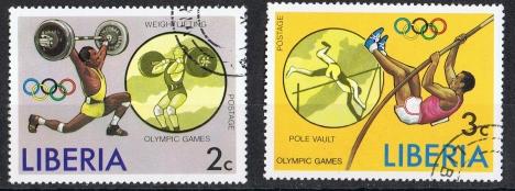 Liberia  MiNr. 990 A und 991 A   gestempelt