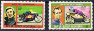 Guinea Ecuatorial   MiNr. 895 und 896   gestempelt