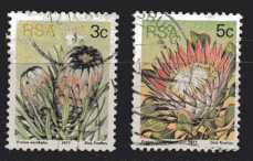 Südafrika MiNr.  514 C und 516 A  gestempelt
