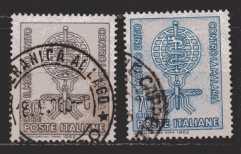 Italien  MiNr. 1132 und 1133   gestempelt