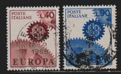 Italien  MiNr  1224 und 1225   gestempelt