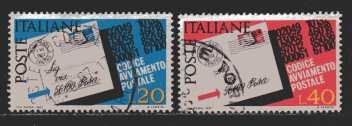 Italien  MiNr. 1237 und 1238  gestempelt