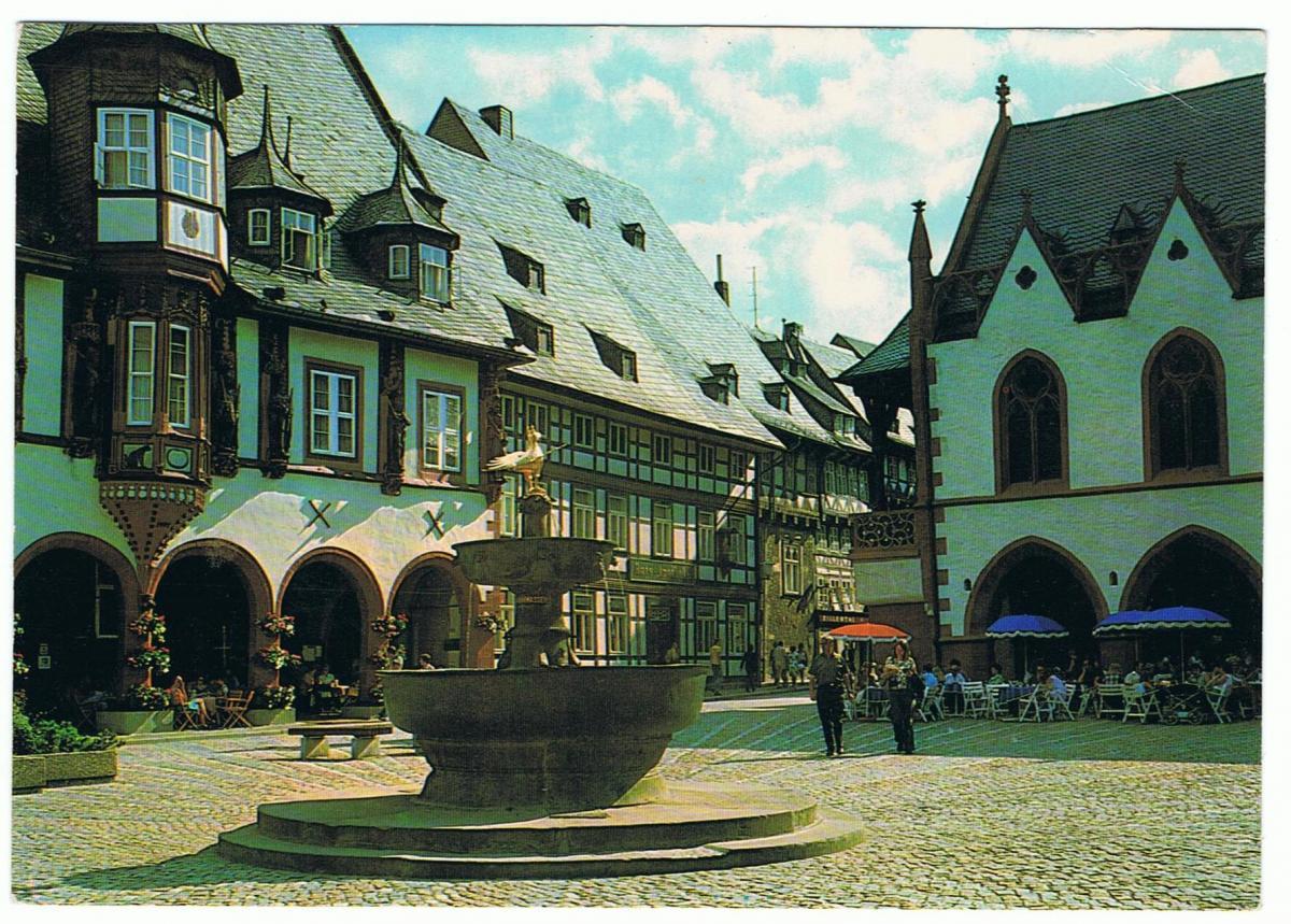 AK Goslar, Marktbrunnen