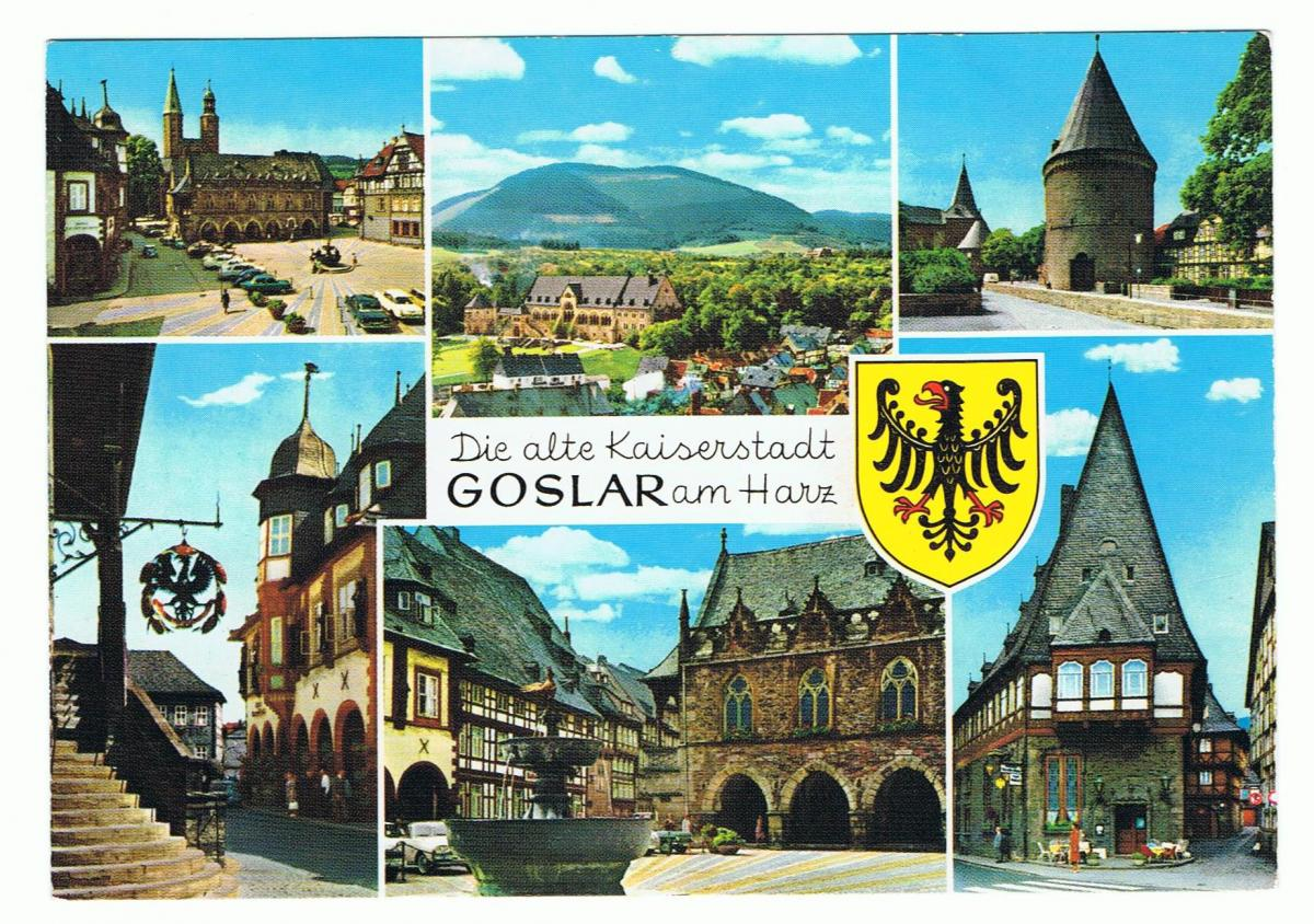 AK Goslar, alte Kaiserstadt