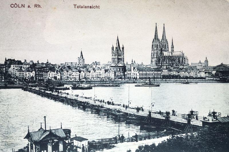 AK Köln Totalansicht