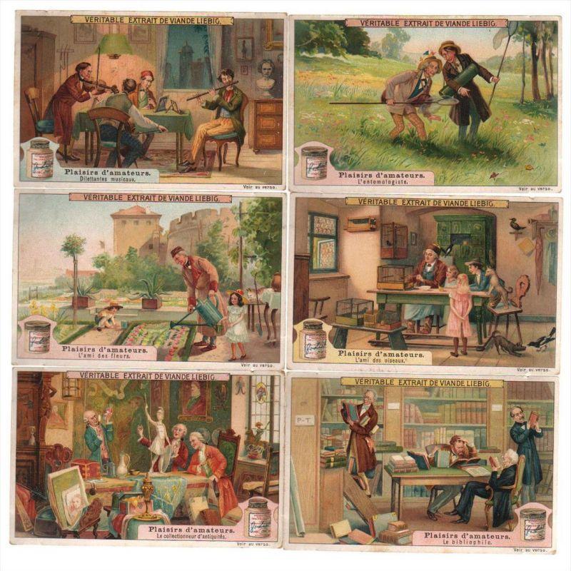 Hobby Sammeln Sammler Musik Lithographie lithograph Liebig