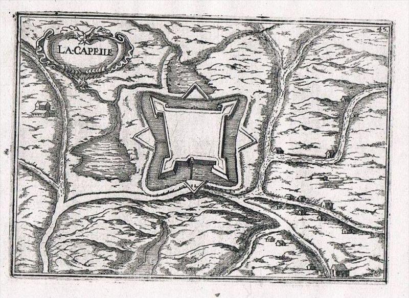 Crecy-la-Chapelle Ile-de-France Seine-et-Marne gravure Kupferstich Tassin