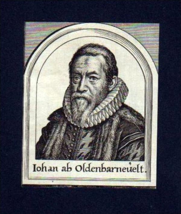 Johan van Oldenbarnevelt Holland Portrait Merian