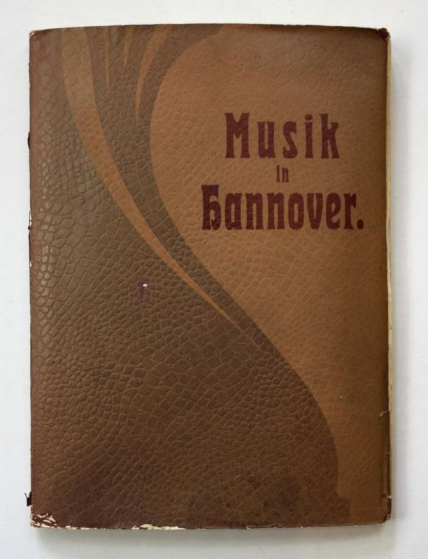 Musik in Hannover. Zweite vermehrte Auflage.