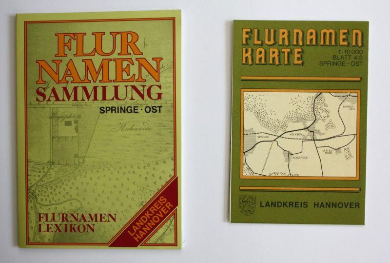 Flurnamenlexikon zur Flurnamenkarte Springe-Ost. Flurnamensammlung des Landkreises Hannover.