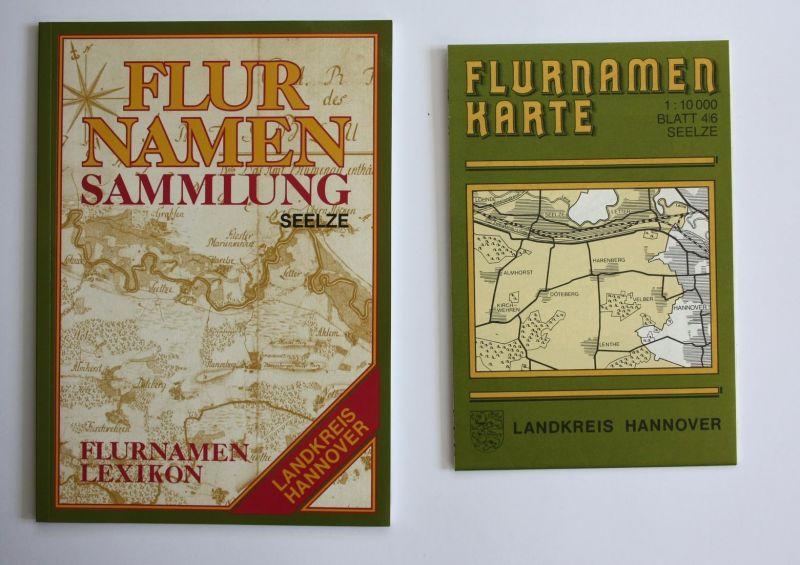 Flurnamenlexikon zur Flurnamenkarte Seelze. Flurnamensammlung des Landkreises Hannover.