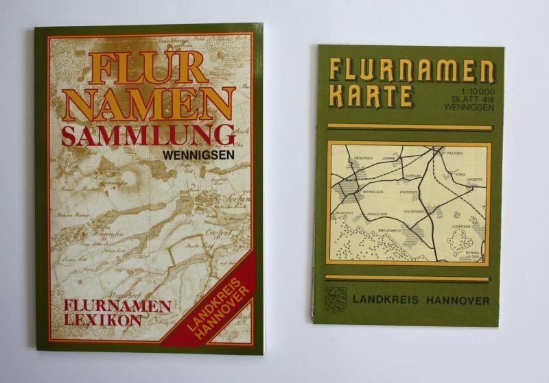Flurnamenlexikon zur Flurnamenkarte Wennigsen. Flurnamensammlung des Landkreises Hannover.