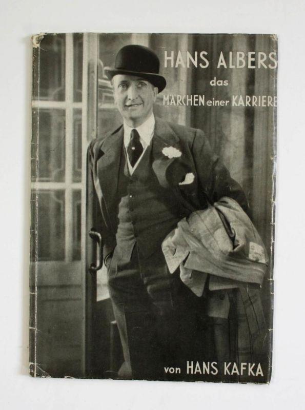 Hans Albers. Das Märchen einer Karriere. Künstler und Filme, Band 1.