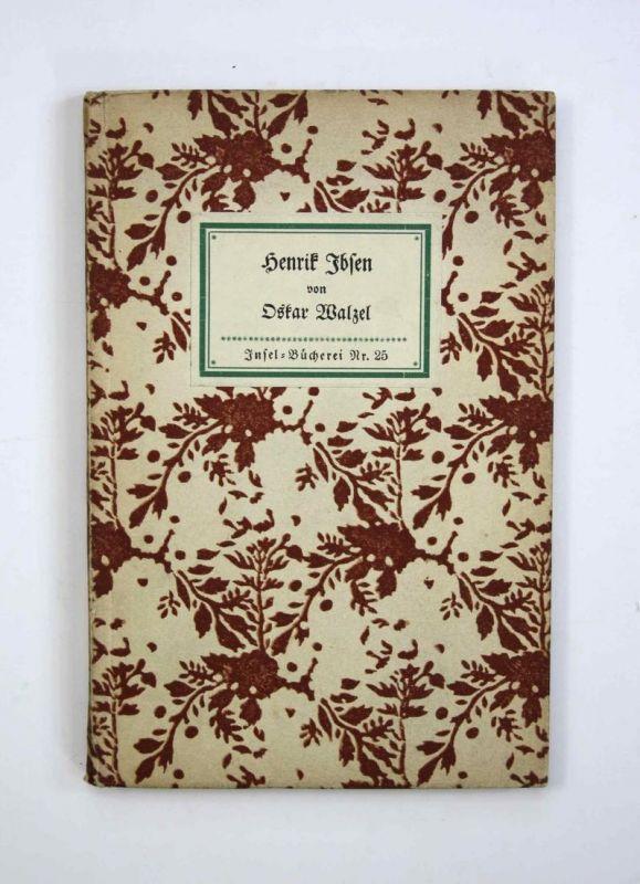 Henrik Ibsen. Insel-Bücherei Nr. 25. Erste Ausgabe.