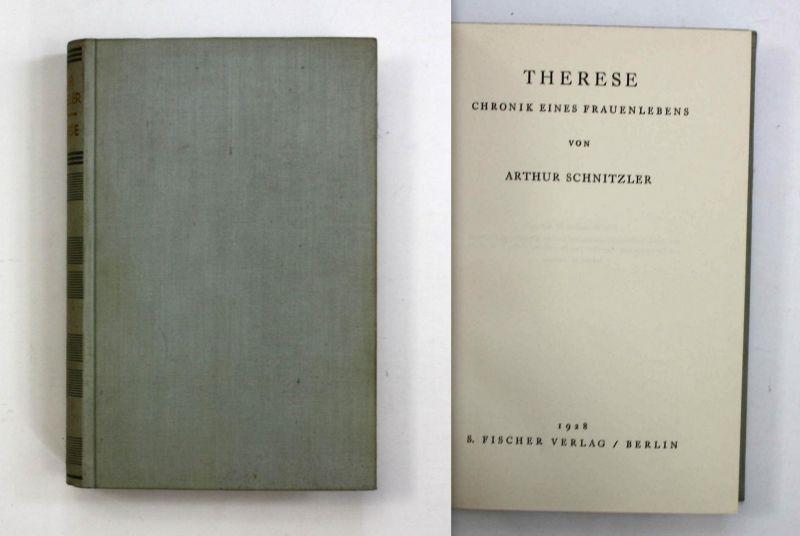 Therese. Chronik eines Frauenlebens. Erste Ausgabe.