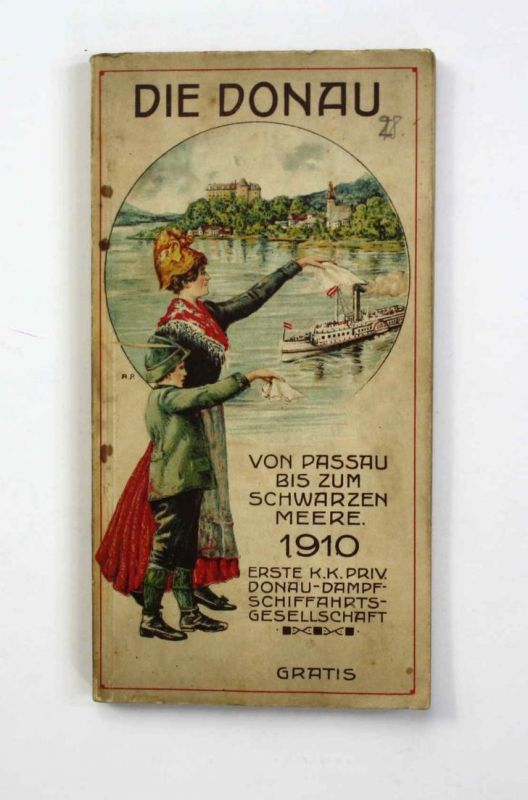 Die Donau. Von Passau bis zum Schwarzen Meere.