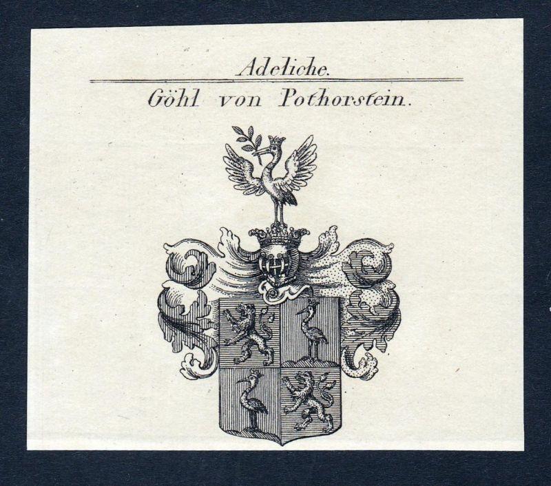 Göhl von Pothorstein - Christoph Markus Joseph Göhl Pothorstein Wappen Adel coat of arms heraldry Heraldik Kup