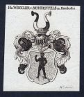 Hn. Winkler v. Mohrenfels zu Hemhofen - Hemhofen Mohrenfels Winkler Winckler Wappen Adel coat of arms heraldry