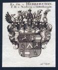 Rs. Gr. v. Herberstein, F. H. v. Neuberg u. Guttenhaag - Herberstein Neuberg Guttenhaag Wappen Adel coat of ar