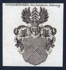 Hn. Waldstromer v. Reichelsdorf u. Schwaig - Reichelsdorf Schwaig Waldstromer Wappen Adel coat of arms heraldr