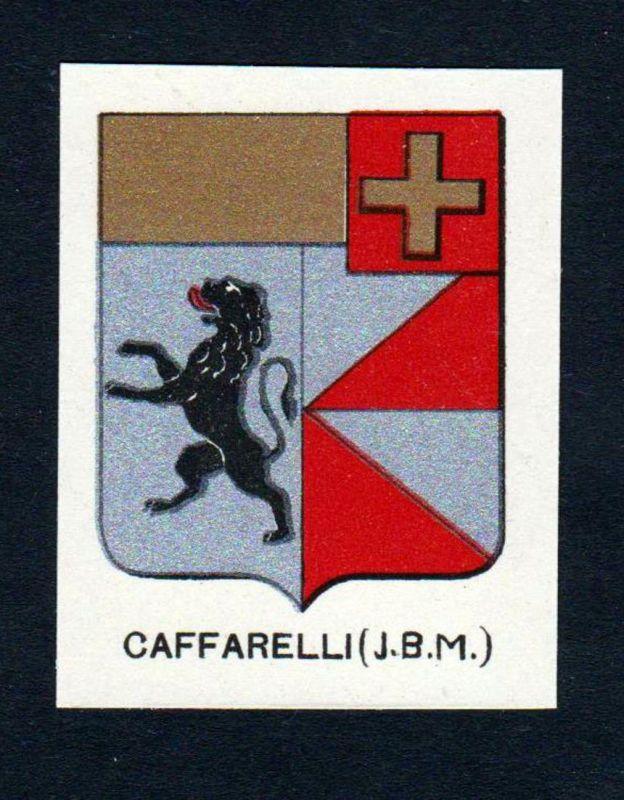 Caffarelli (J. B. M.) - Caffarelli Wappen Adel coat of arms heraldry Lithographie antique print blason
