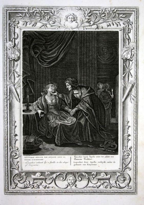 Leucothoe durch Apollo unter der Gestalt von Eurynome Verführet - Leucothea Leukothea Eurynome Apollo Greek My