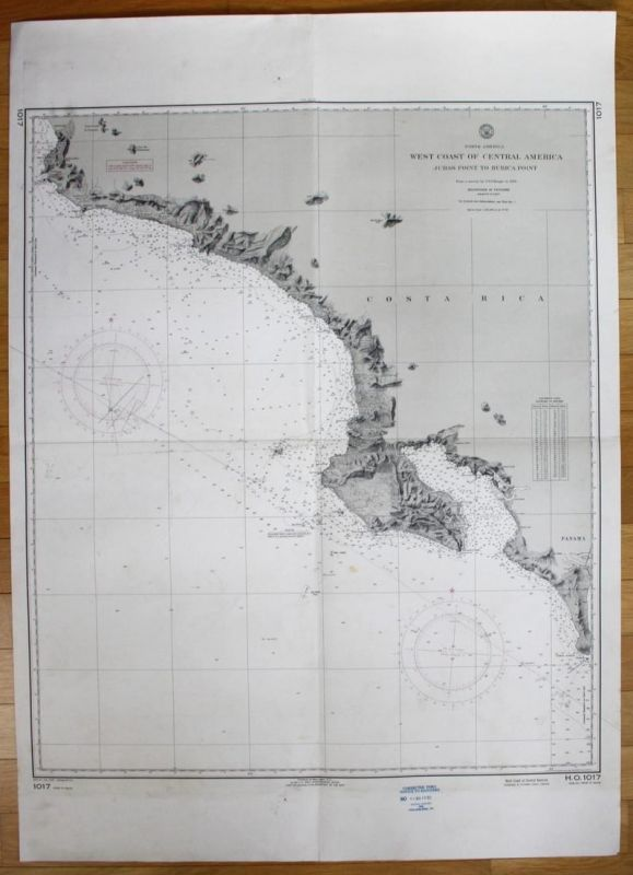 North America - West Coast of Central America - Judas Point to Burica Point