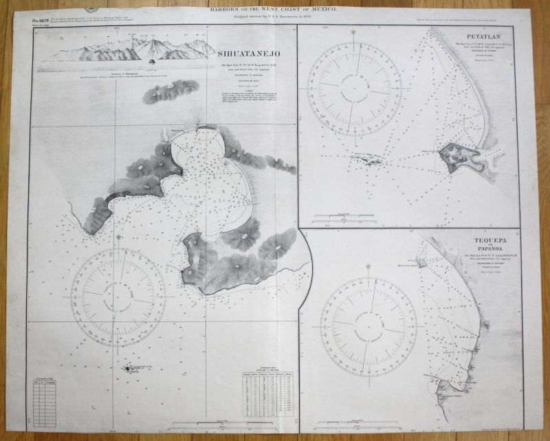 Harbors on the West Coast of Mexico - Sihuatanejo Petatlan Tequepa or Papanoa