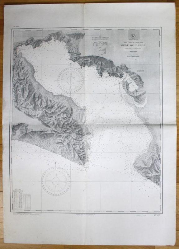 Central America - West Coast of Costa Rica - Gulf of Dulce