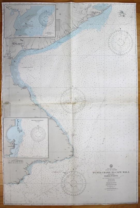 Central America - Gulf of Panama - Punta Chame to Cape Mala including Bahia Parita