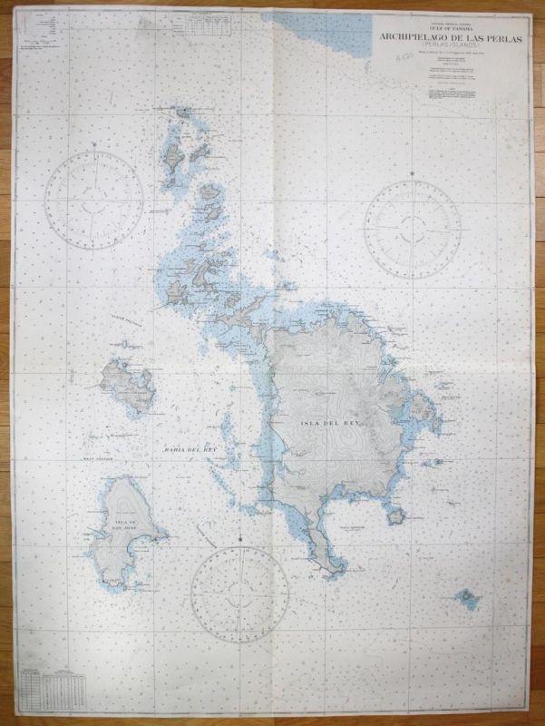 Central America - Panama - Gulf of Panama - Archipielago de Las Perlas