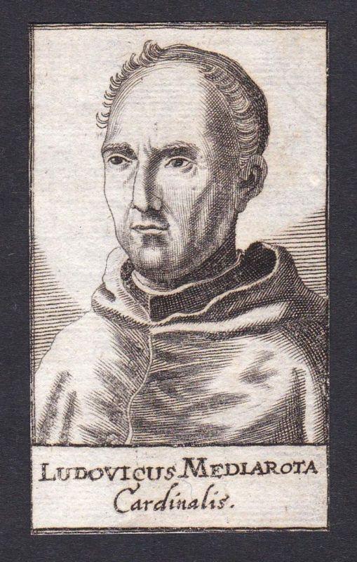 Ludovicus Mediarota / Ludwig Mezzarota / cardinal Kardinal Bologna Italien